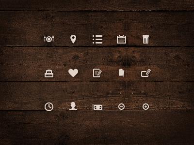 Viddlz icons set