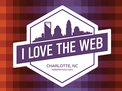 I Love The Web -  Web Afternoon Charlotte web afternoon sticker charlotte