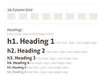 Grid & Baseline Basic Content