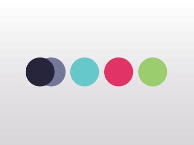 Color Pallette colors book