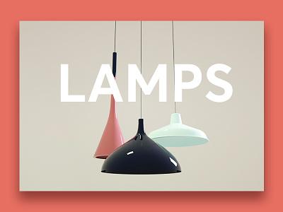 3d  Ceiling Lamps ui uidesign light 3d lamps 3d ceiling lamp lamps