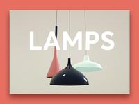 3d  Ceiling Lamps