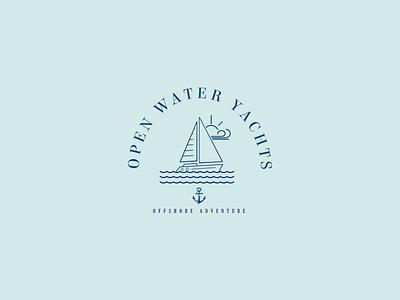 Daily Logo Challenge: Day 23 yachts boat sea graphics graphicdesign dailylogochallange logochallange logos logo