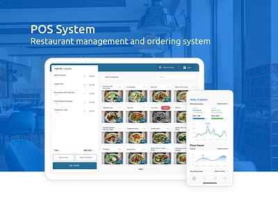 POS System - Restaurant management and ordering system research menu waiter booking system management delivery food 2020 trends mobile app restaurant cafe web app mobile design ux ui