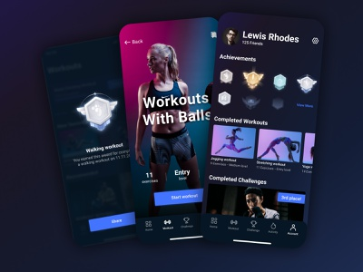 FitnessApp tracking exercise run gym crossfit training workout health sport fitness apple ux design ui design app mobile ui mobile app design mobile app ux ui design