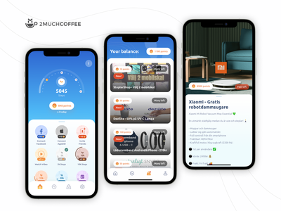 #1 Fitness App in the Swedish App Store mobile design tracker orders android ios steps dashboad pedometer mobile app ux ui design