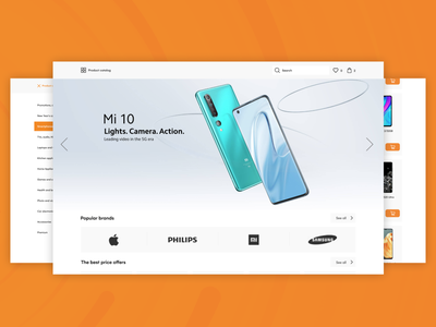 Online Marketplace online marketing websit web store online store app ui ux online shop marketplace app design