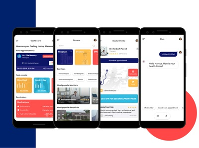 The uber-like healthcare doctors booking platform