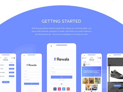Rewala, cross-platform mobile and web app for decision making mobile design app design apple mobile app design android mobile app design mobile ui illustration