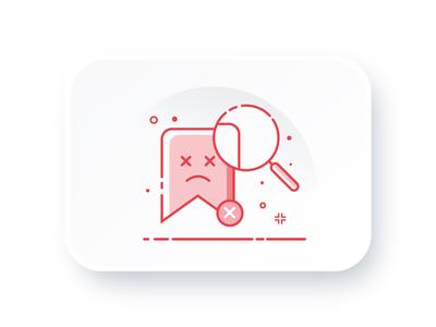 Buletin App / No saved articles cute illustration minimal icon minimal design minimal ui illustration save illustration save