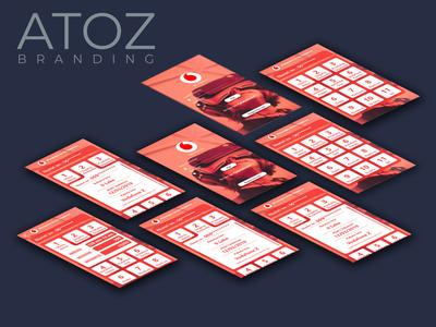 My Vodafone Albania App Design