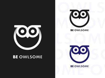 Owl Logo - Be Owlsome