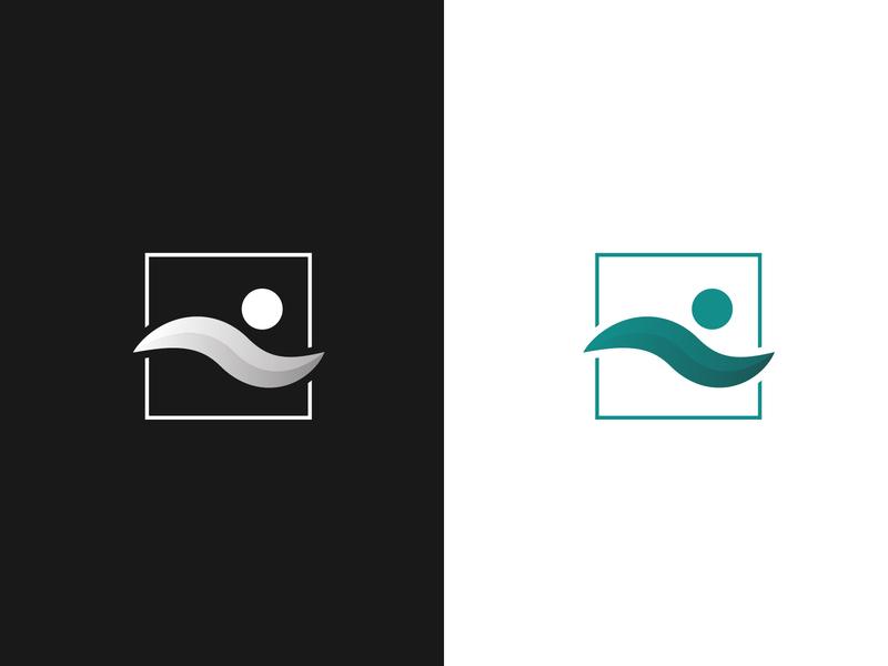 Human Minimal Logo human logodesign shadow shade gradient minimal logo design minimal logo design minimalist logo men logo human logo