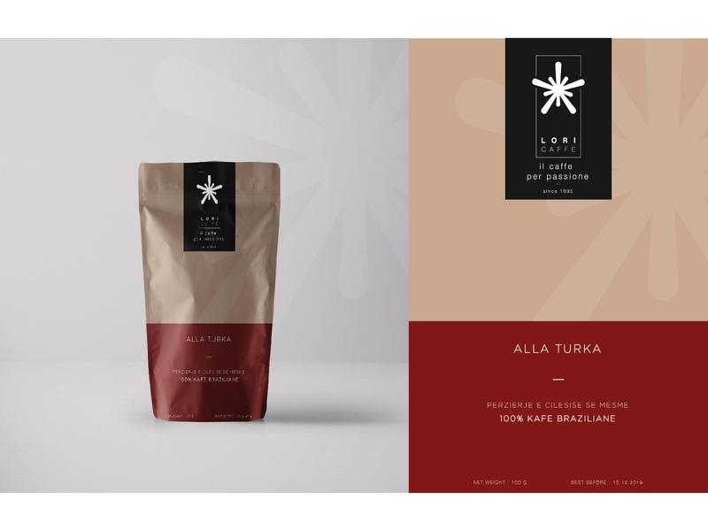 Dribbble Weekly Warm-Up / Lori Caffe package design shqip minimal packaging minimal design mockup packaging design packagedesign packaging package coffee caffee albania albanian