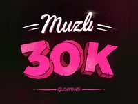Muzli 30k followers on Instagram