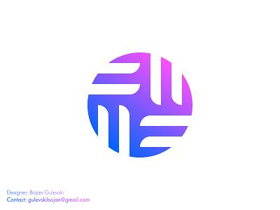 Circle tech software gradient logo minimalist logo logo designer branding design app logo favicon professional logotype clean abstract logo gradient logo software logo circle logo tech logo logos logo gradient software tech circle