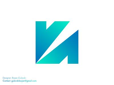 K tech software gradient logo modern platform branding minimalist logo professional design logo gradient icon gradient color app logo design app logo software company software technology logo tech logo gradient logo square gradient n logo k logo