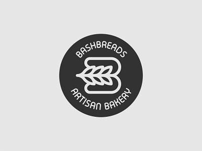 Bash Breads Bakery Logo Design bread logo breadcrumb grain leaf grain bakery logo bakery bake baker bread logo design creative minimalist branding professional design logo