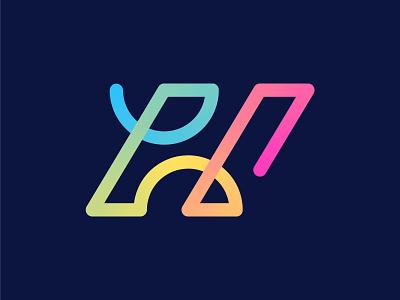 H logo modern geometric logo design line logo tech gradient o p q r s t u v w x y z a b c d e f g h i j k l m n h gradient logo h minimal logo h logo design h letter h logo creative minimalist flat branding professional design logo