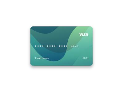Custom credit card design