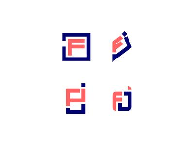 """""""FJ"""" Logo Concepts"""