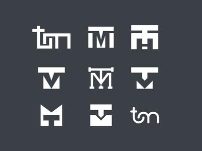 TM  Monogram Icons