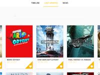 [WIP] Games app