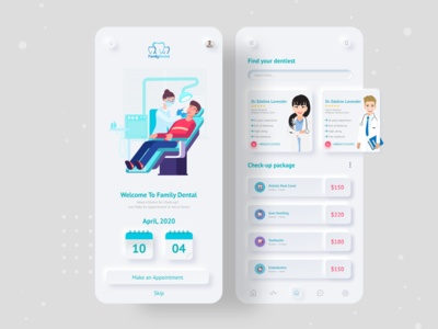 Dental Consultation App application doctor app consultation doctor appointment doctor dental dental logo dental website design dental clinic dental care dentist appdesigner appdesign app vector landing page dribbble best shot ux ui typography