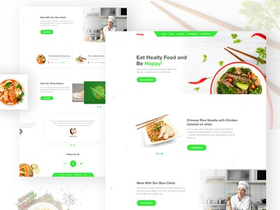 Foody Landing Page