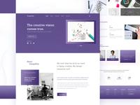 DesignHub-Landing Page