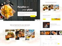 Restaurant-Landing Page
