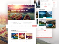 Travely- Landing Page