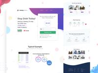 Moneyadvisor Landing Page