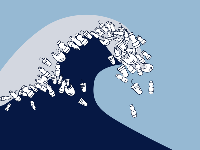 expense of my ego ecology zero waste vector design figmadesign eco illustration socialproject