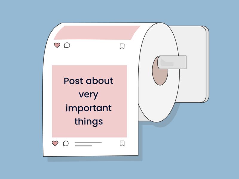 Like, Share, Don't Care #1 likesharedontcare vectorart vector socialproject figmadesign illustration design