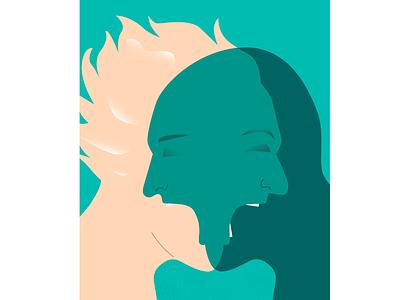 Clash of narratives argue narrative clash agression fight person illustration
