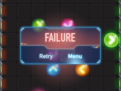 Scifi GUI gui scifi game balls glow interface button