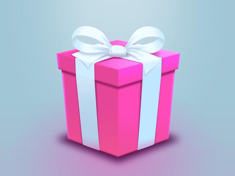 2x Dribbble Invites icon holiday christmas gift dribbble invite