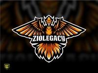"""Phoenix logo mascot """"ZIOLEGACY""""."""