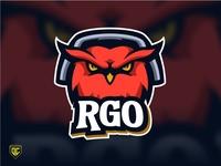 "Owl logo mascot ""RGO""."