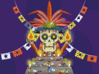 La Fiesta De Los Muertos