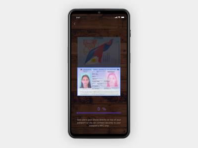 Scanning documents UI