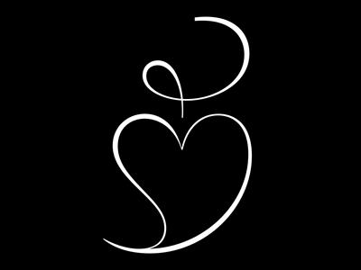 FloralHeart uni+2766 _ detail u2766 heart typeface font inverse contrast fleuron floralheart hairline