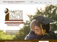 MLK Scholarship Fund of Rutherford County Web Design