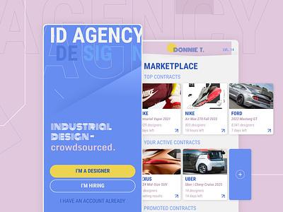 ID AGENCY industrialdesign typography ux ui graphic design design