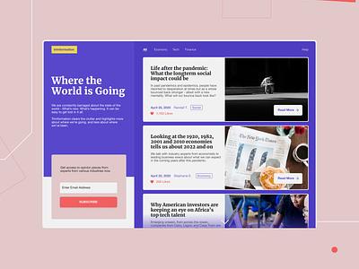 Trimformation app typography design graphic design ux ui