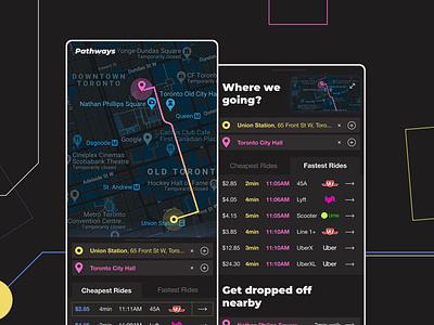 Movement XL lime uidesign uxdesign design lyft uber ux ui