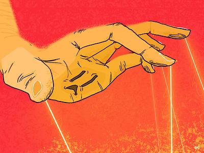 Electric Future speedart art editorial illustration graphic design