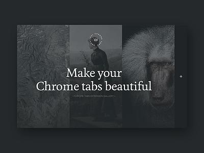 Beautiful Tabs web design tabs chrome