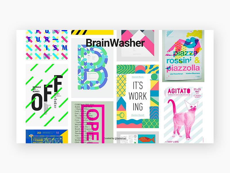 brainwasher.co editorial web graphic design inspiration gallery